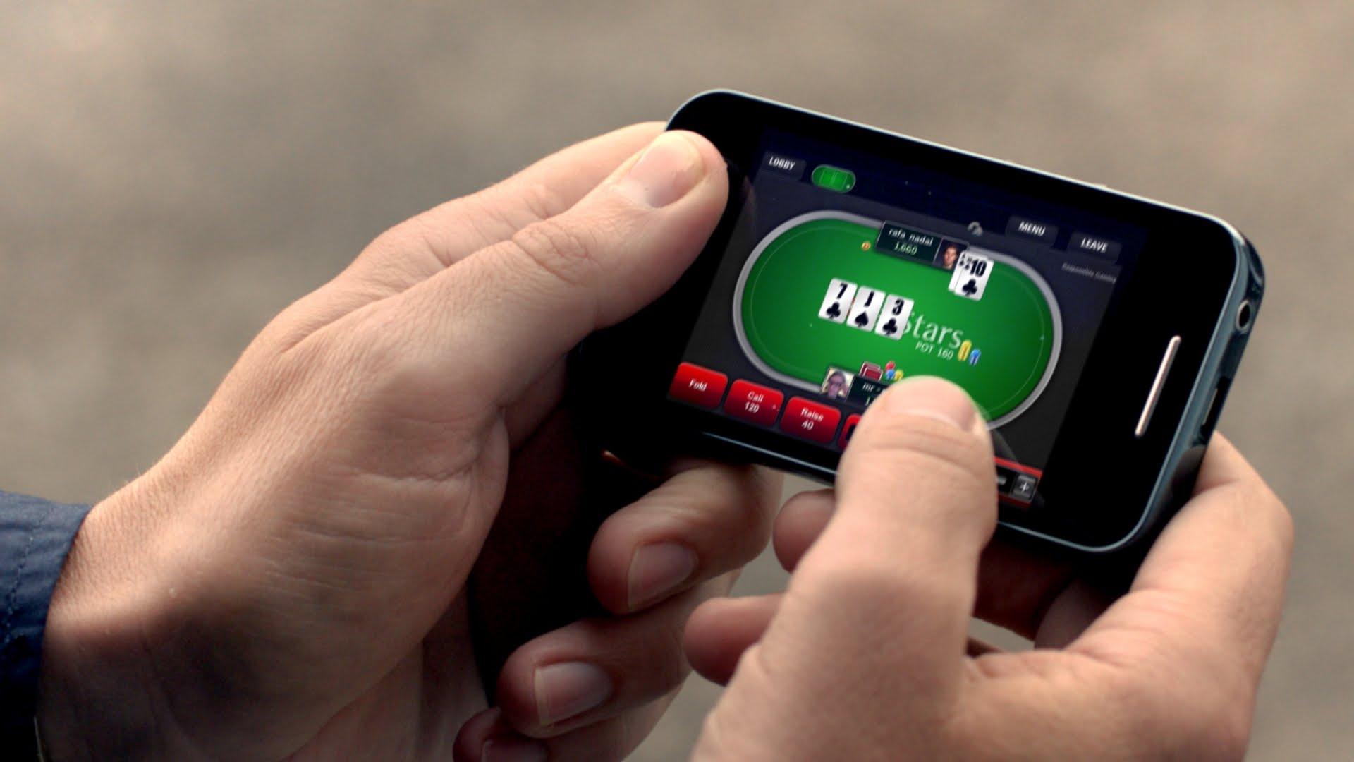 Покер онлайн по смартфону как убрать сайт казино вулкан