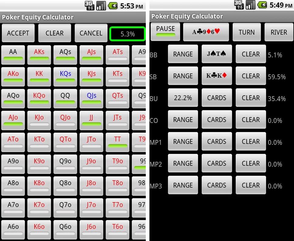 Скачать онлайн калькулятор для покера баги игровые автоматы