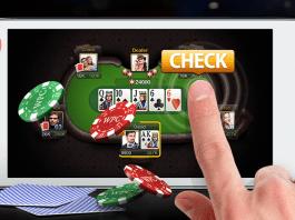 Мобильное приложение онлайн покер парень играет в казино