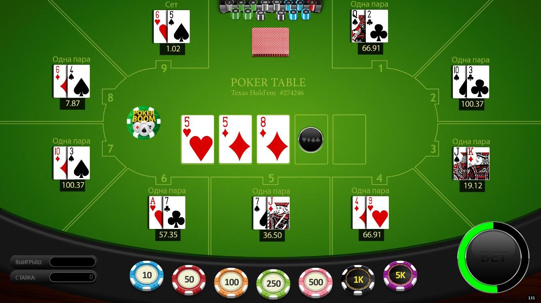 Букмекерская контора играть в покер