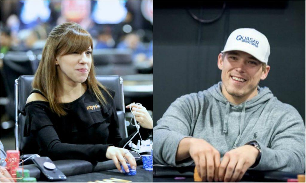 Алекс и Кристен играют в покер