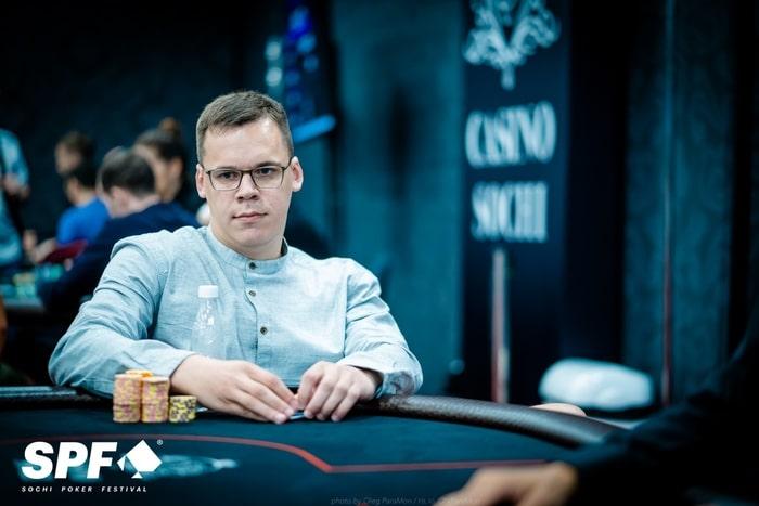 Александр Чухланцев - 4 место ($9,575)