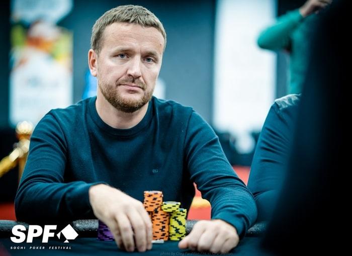 Андрей Семенов - 3 место ($16,300)