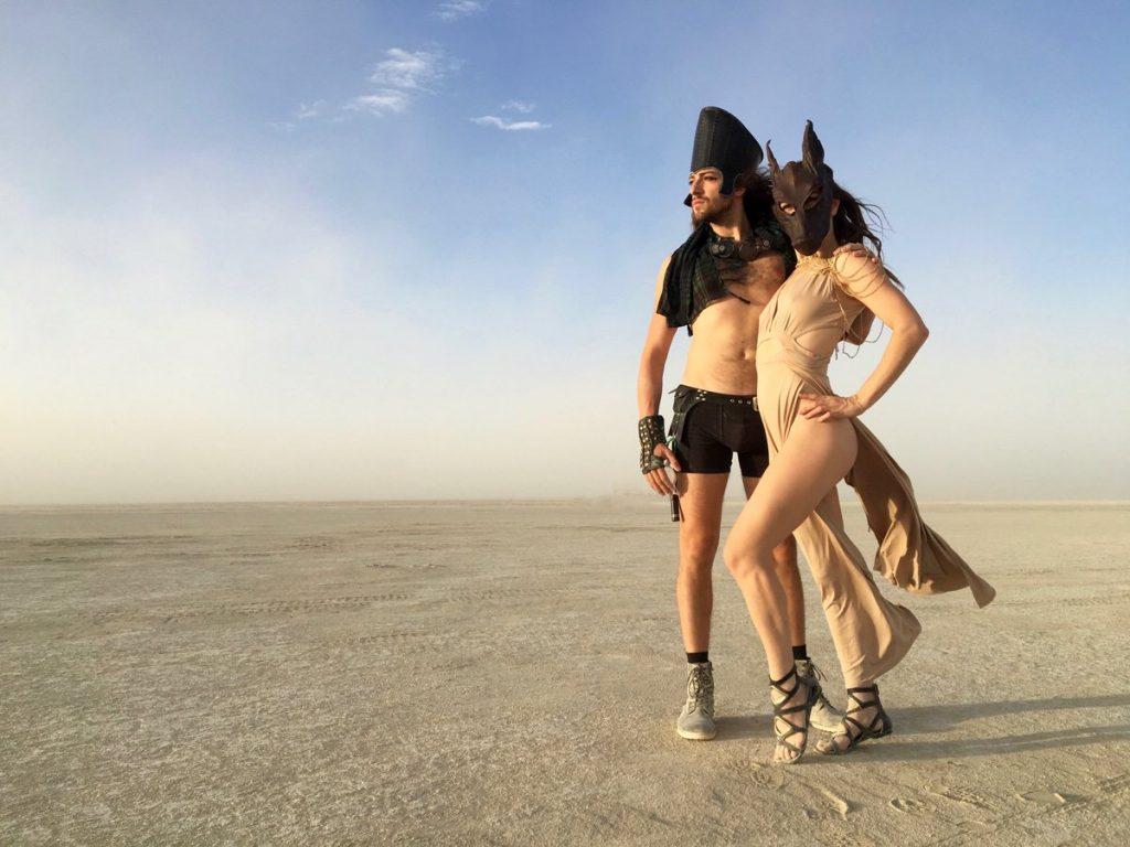 Боэри и Курганов на «Burning man»