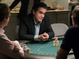 Brian D'Arcy James plays 'Brad' in Molly's Game