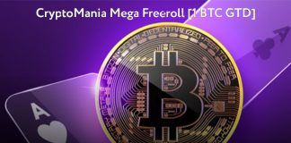 CryptoMania Mega Freeroll PokerDom