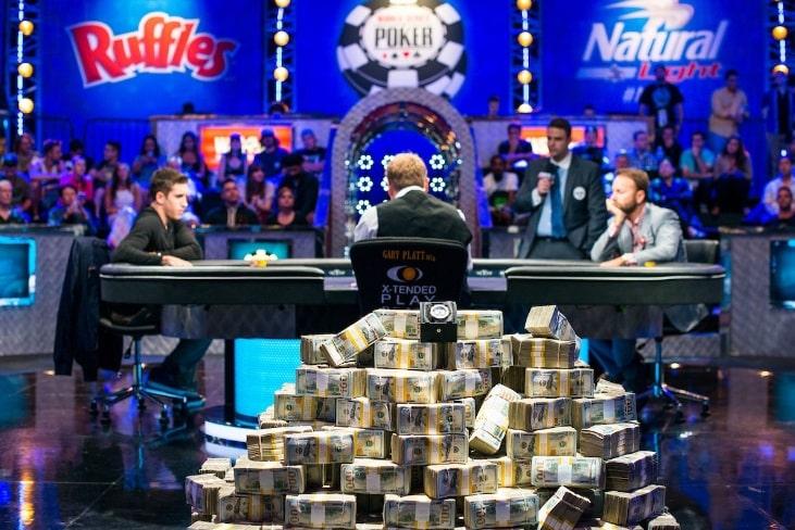 Даниэль Негреану против Дэна Колмана в финале Big One for One Drop $1,000,000