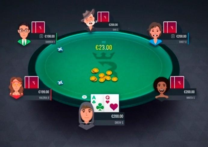 Динамичные аватары в RIO Poker