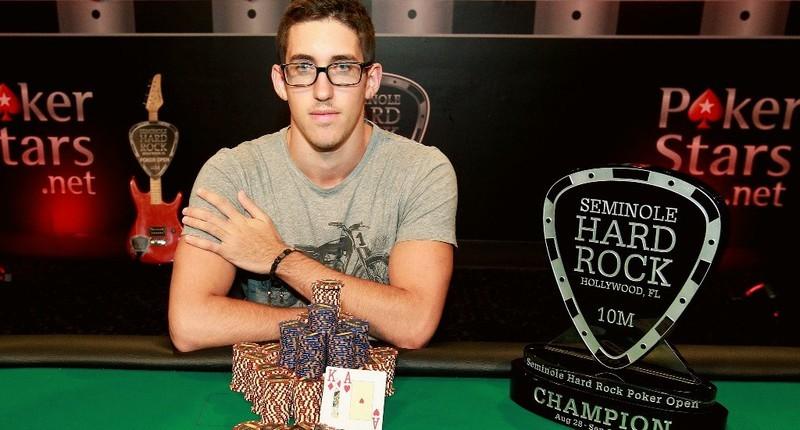 Дэн Колман - победитель Seminole Hard Rock Poker Open 2014 - турнира с рекордным оверлеем в $2.5 млн