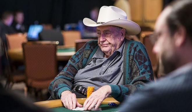 Дойл Брансон за покерным столом