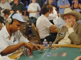 Doyle Brunson and Phillip Ivey
