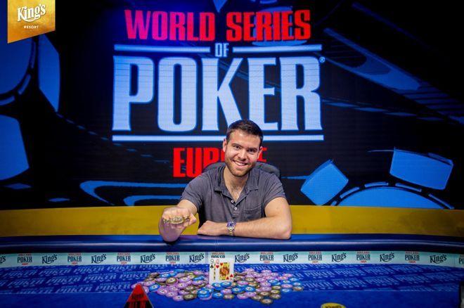Джек Синклер - чемпион Главного события WSOPE 2018 (€1,122,239)
