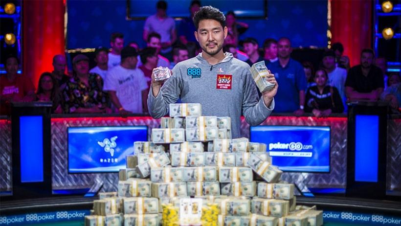 Джон Цинн - чемпион Main Event WSOP 2018 ($8,800,000)