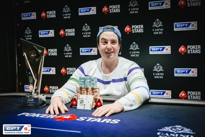 EPT Сочи ₽ 66,000 National Championship winner