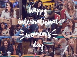 Female Poker Players Celebrate International Women's Day