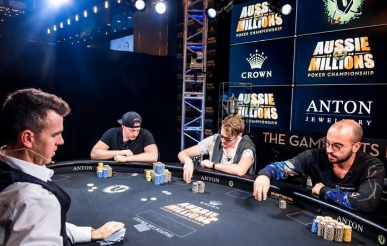 Финальный стол Aussie Millions 2019