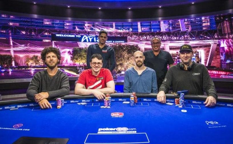 Финальный стол Mixed Games на US Poker Open