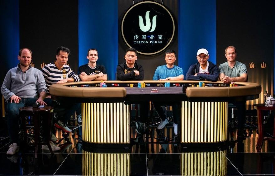 Финальный стол турнира Short Deck