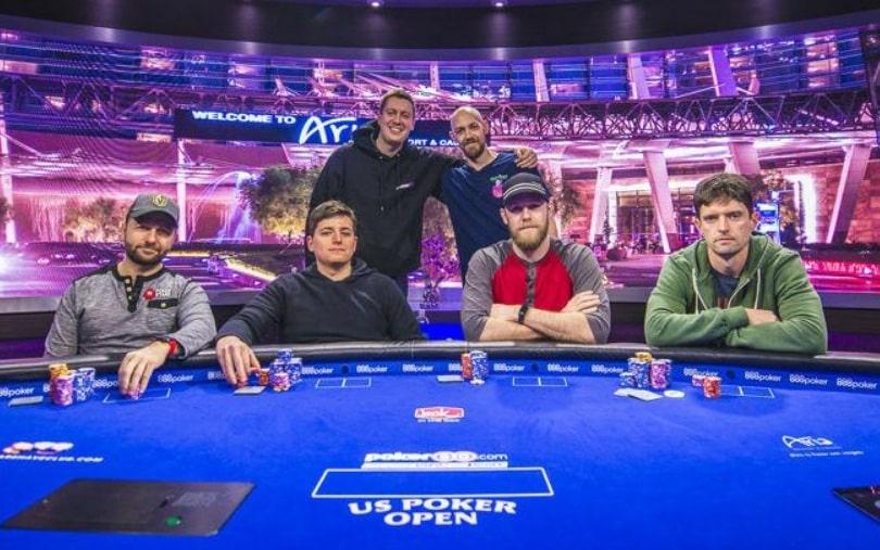 Финальный стол в $25,000 No Limit Hold'em на USPO 2018