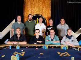 HKD1,000,000 Main Event of the 2018 Triton Super High Roller final table