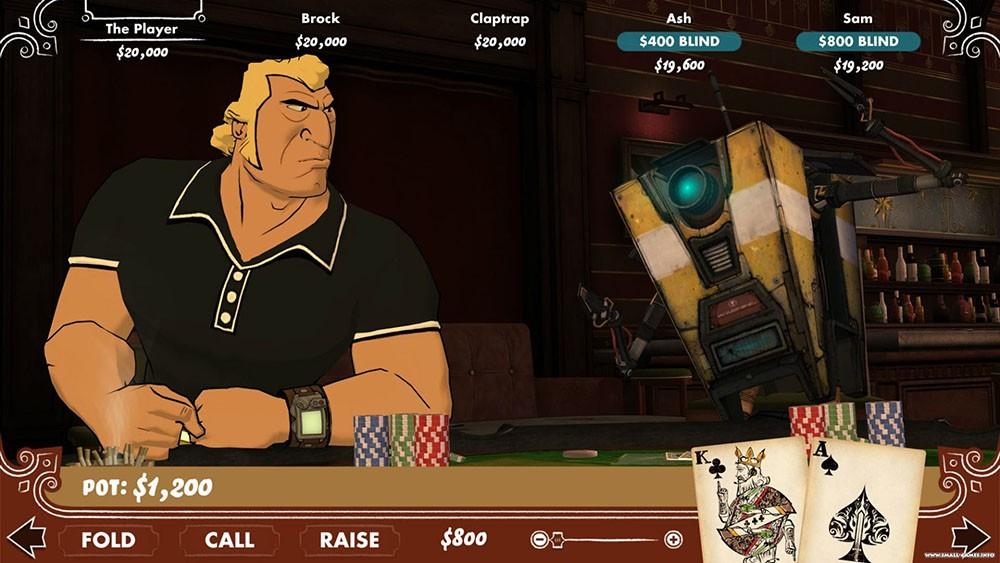 Игрок с AK
