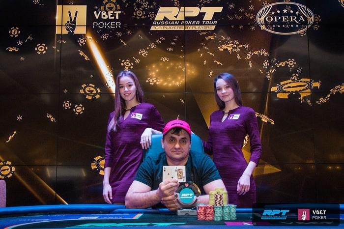 Иван Шастун - чемпион SuperStack Event ($25,000)