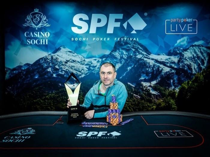 Иван Зайцев - победитель Warm Up ($11,948)