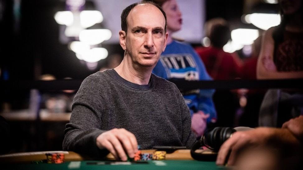 Эрик Сайдел за покерным столом