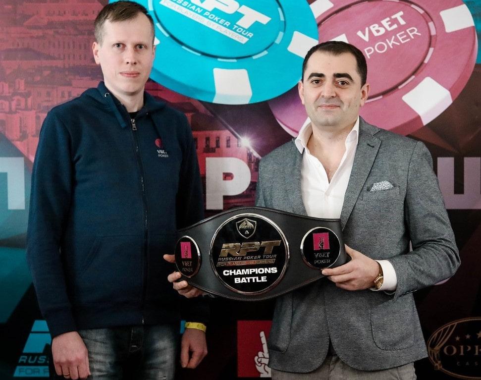 Юрий Масленков - чемпион Champions Battle Freeroll ($5,000)