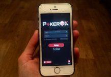 мобильное приложение PokerOK на айфоне