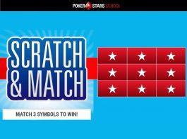 Карта удачи PokerStars School что можно выиграть в акции Scratch & Match
