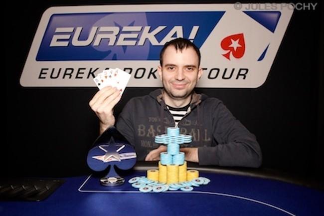 Константин Маслак - победитель турнира по Quintuple Draw на EPT в Праге