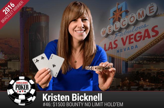 Кристен Бикнелл выигрывает второй браслет WSOP за победу в Event #46 ($290,768)