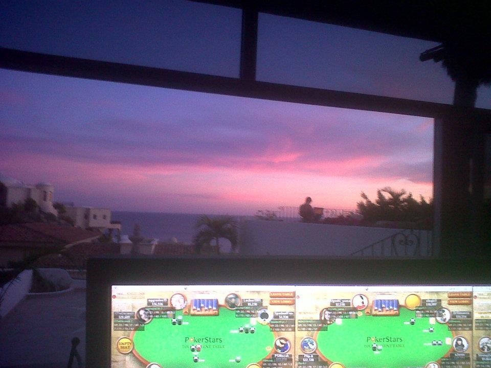 Вид из квартиры Чидвика в Мексике