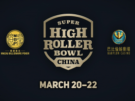 Launch Super High Roller Bowl China