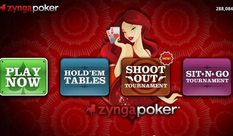 Лобби Zynga Poker