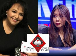 Maria Ho and Lupe Soto Women in Poker Hall of Fame