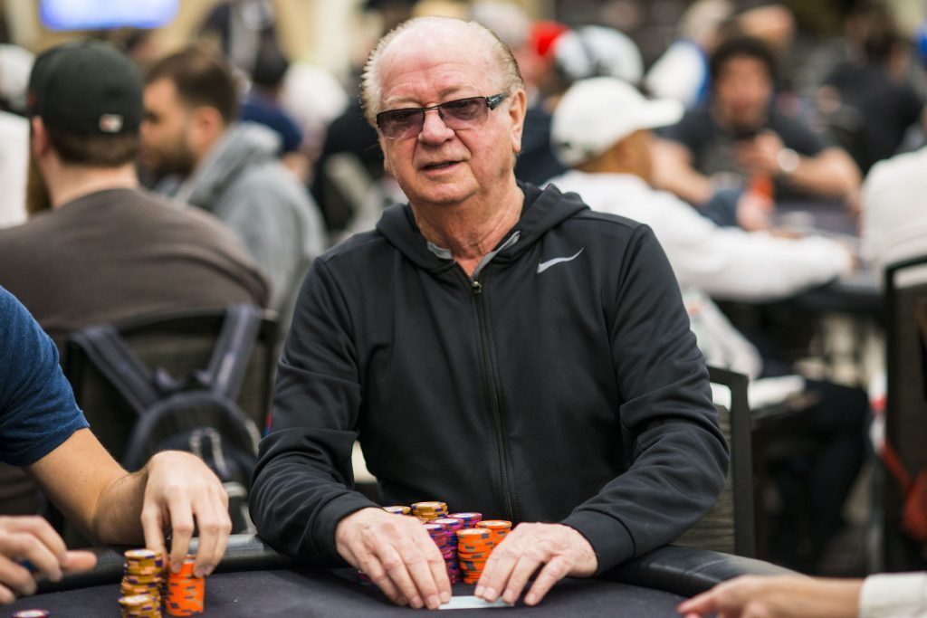 Билли Бакстер за покерным столом