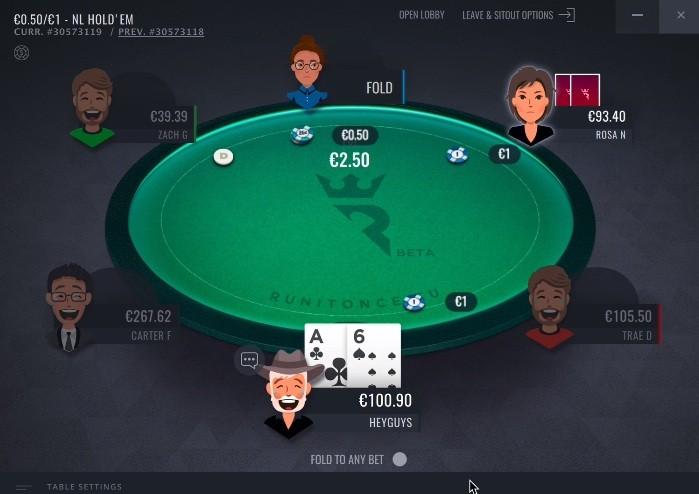 NLH в RIO Poker