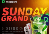 New tournament PokerDom Sunday Grand