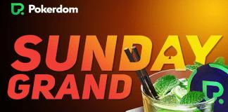 New tournament PokerDom Sunday Grand