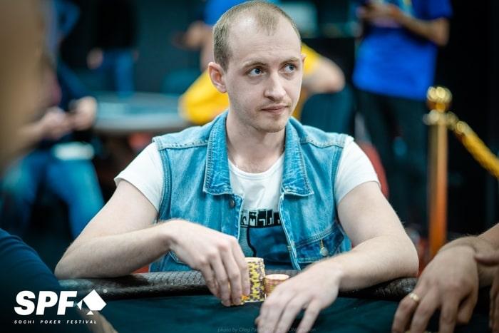 Никита Мышкин - 3 место ($14,365)