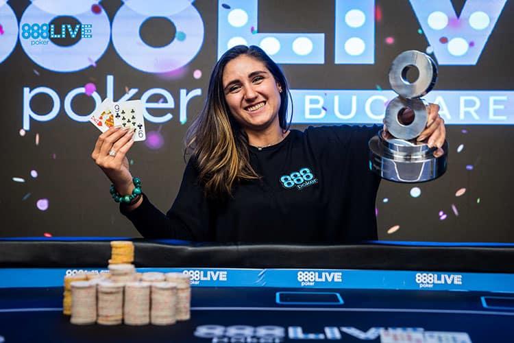 Победа Маркес в турнире 888poker