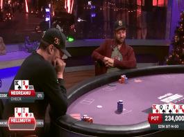 Poker After Dark Phil Hellmuth and Daniel Negreanu