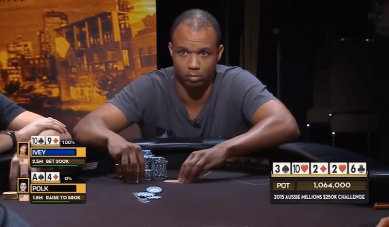 Покерное лицо Фила Айви