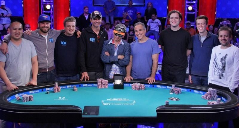 9 финалистов WSOP 2016