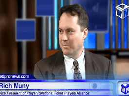 Rich Muny, Vice President of the Poker Players Alliance (PPA),