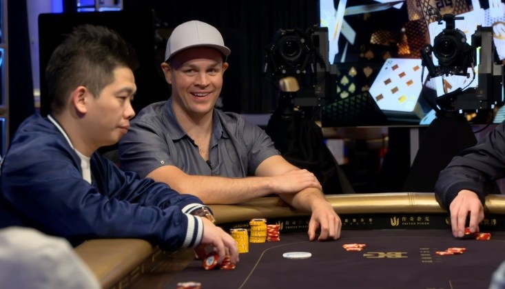 Робл на турнире Short Deck на Triton Poker