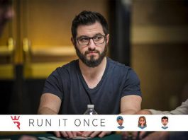 Run It Once Poker Room not HUD