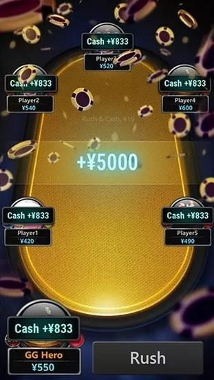Rush & Cash - формат с системой рейкбека Cash Drops